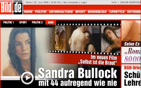 Sandra Bullock Nackt