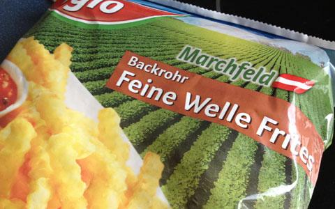 Backrohr Pommes Frittes