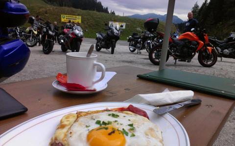 Kleine Motorrad Tour